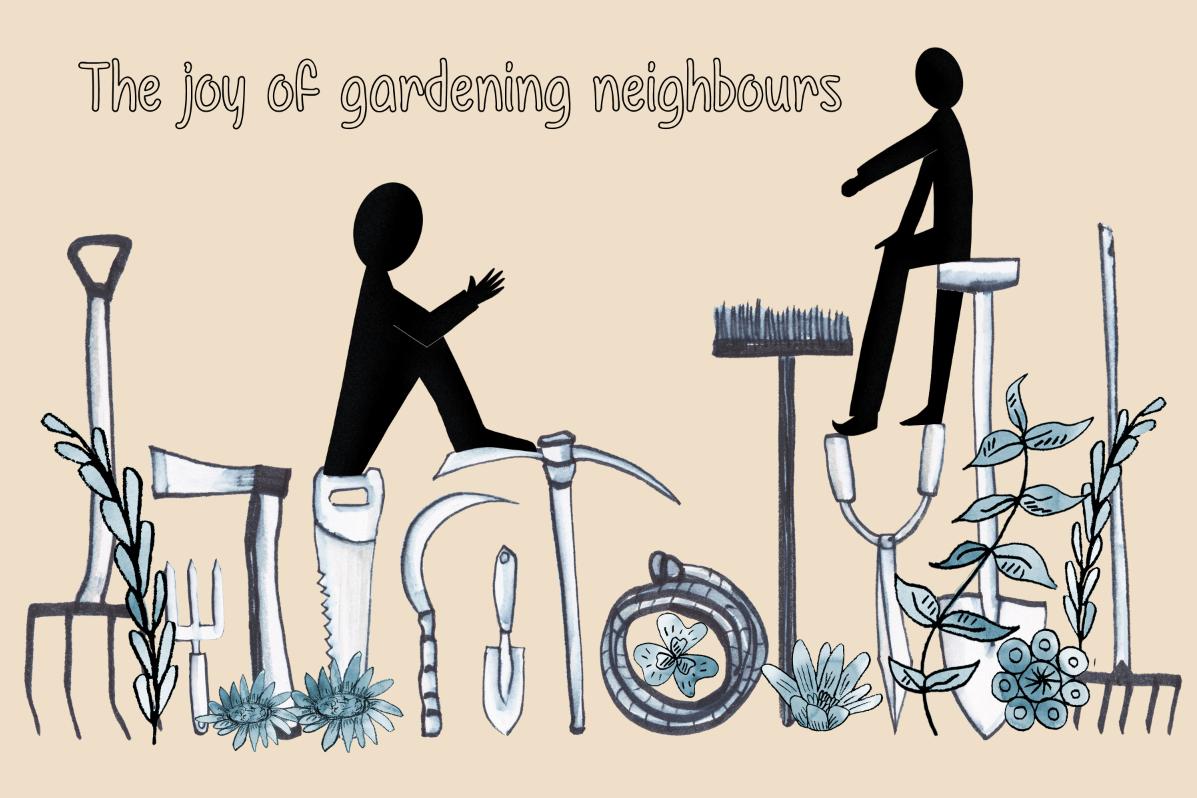 editorial gardening neighbours