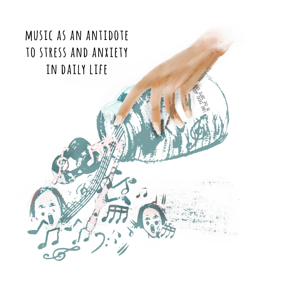 editorial music antidote