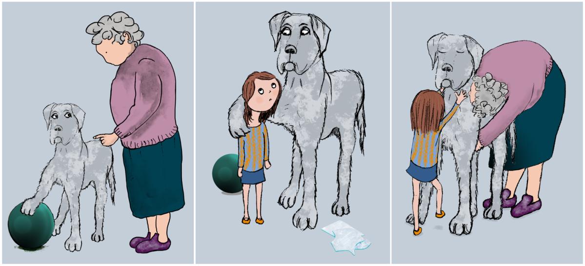 girl dog story