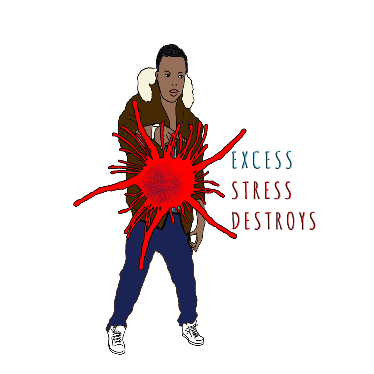 stress destroys