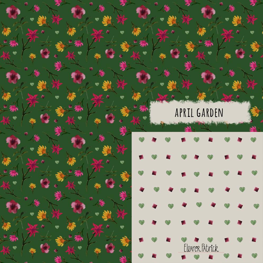 april garden samples