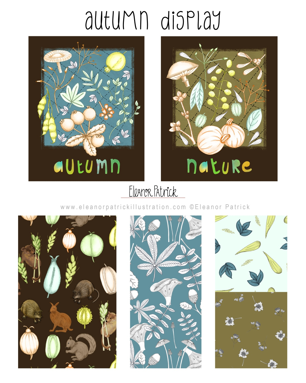 autumn display layout