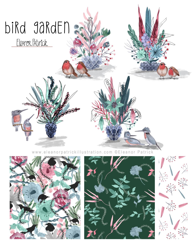 bird garden layout