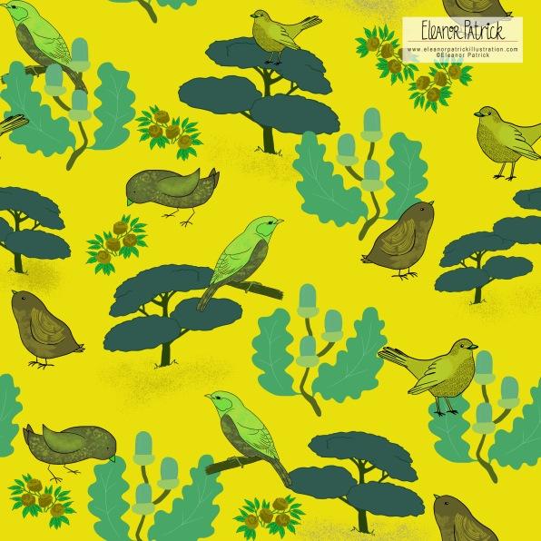 Birds in trees 1