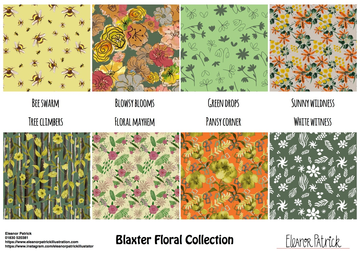 Blaxter Floral Collection