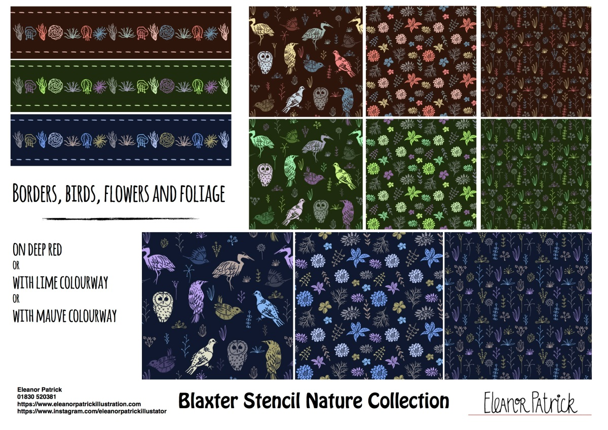 Blaxter Stencil Nature collection