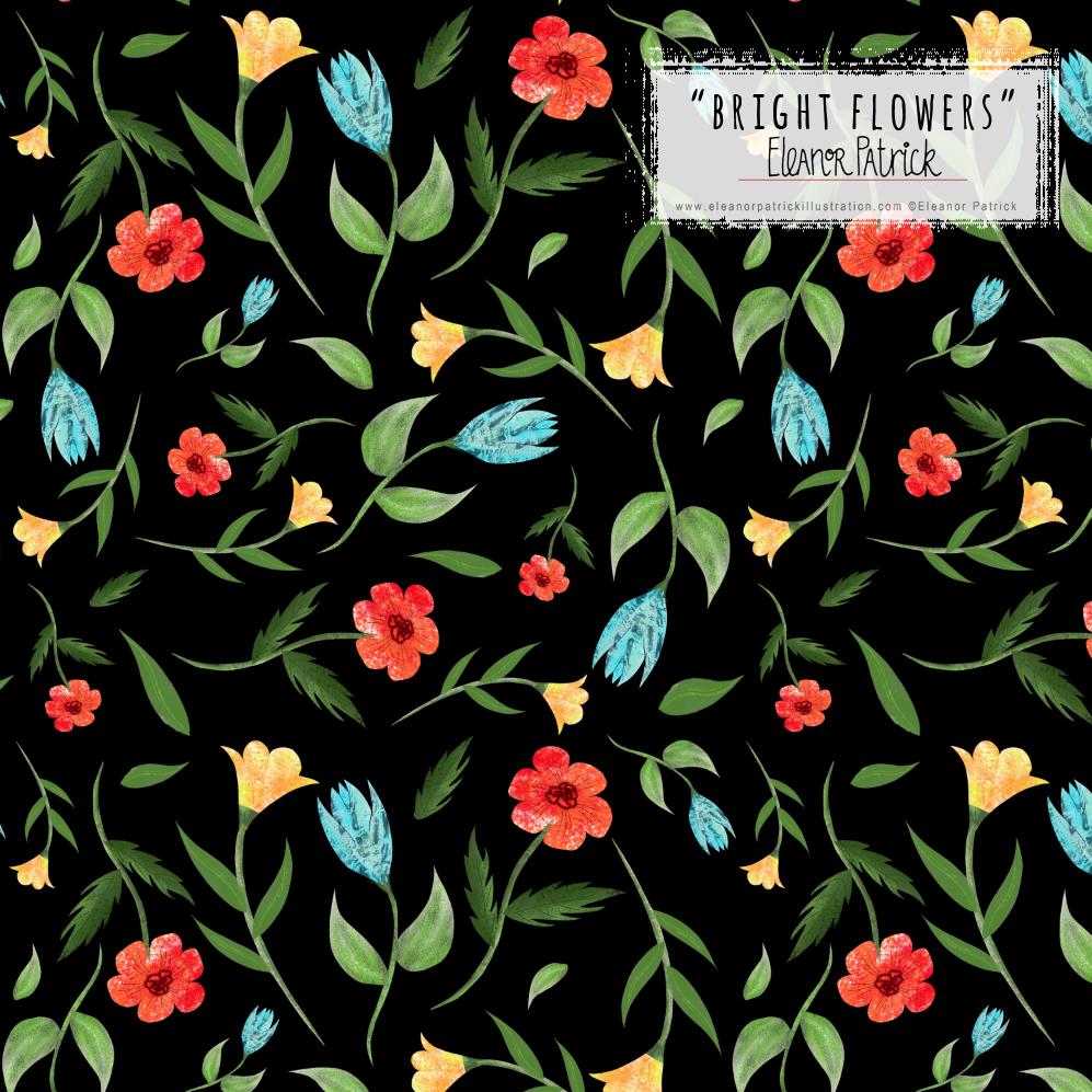 bright flowers sample