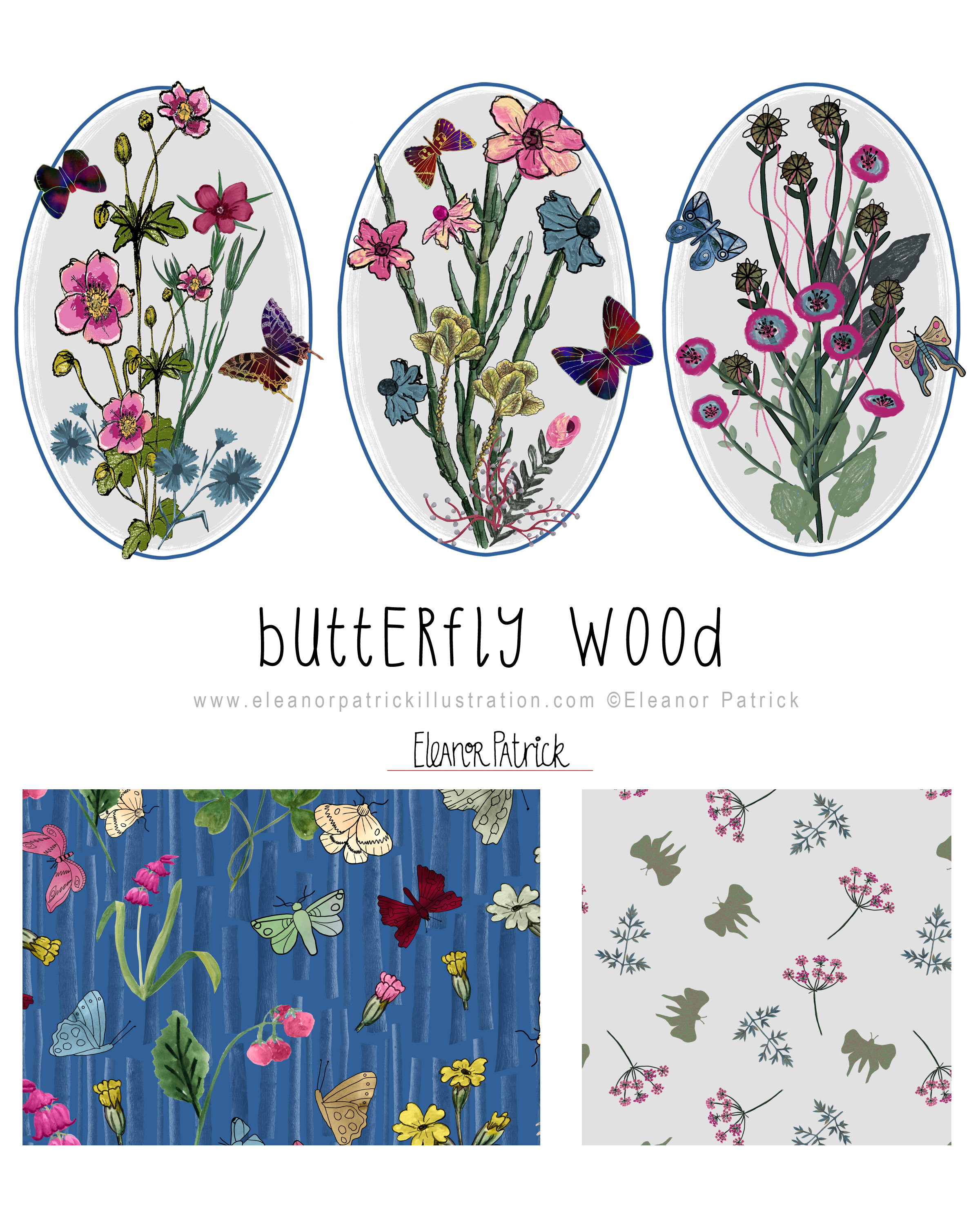 butterfly wood layout
