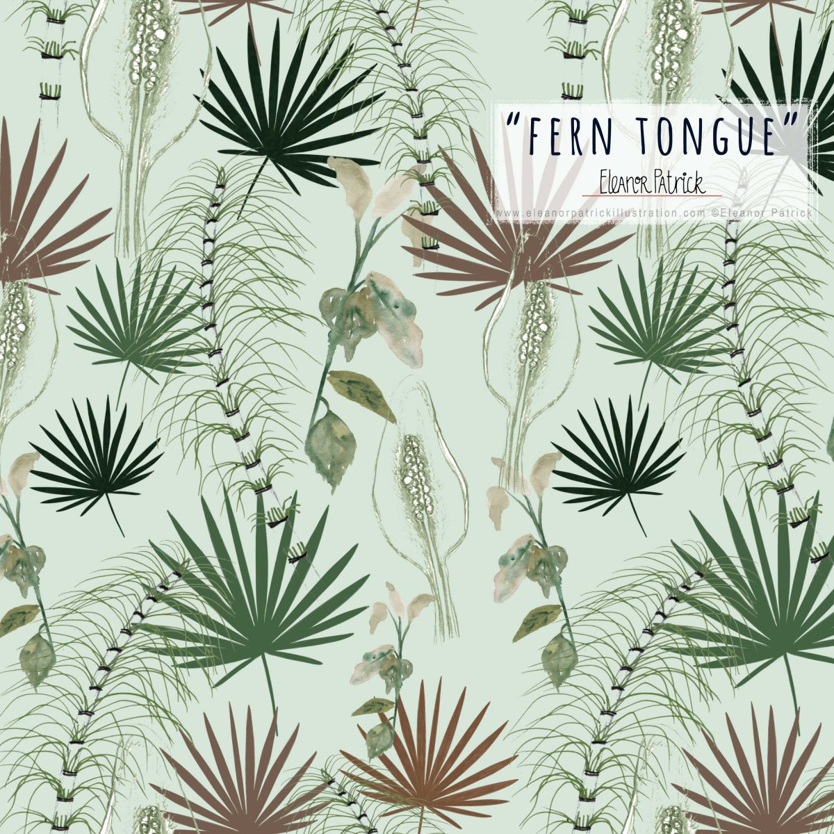 fern tongue sample