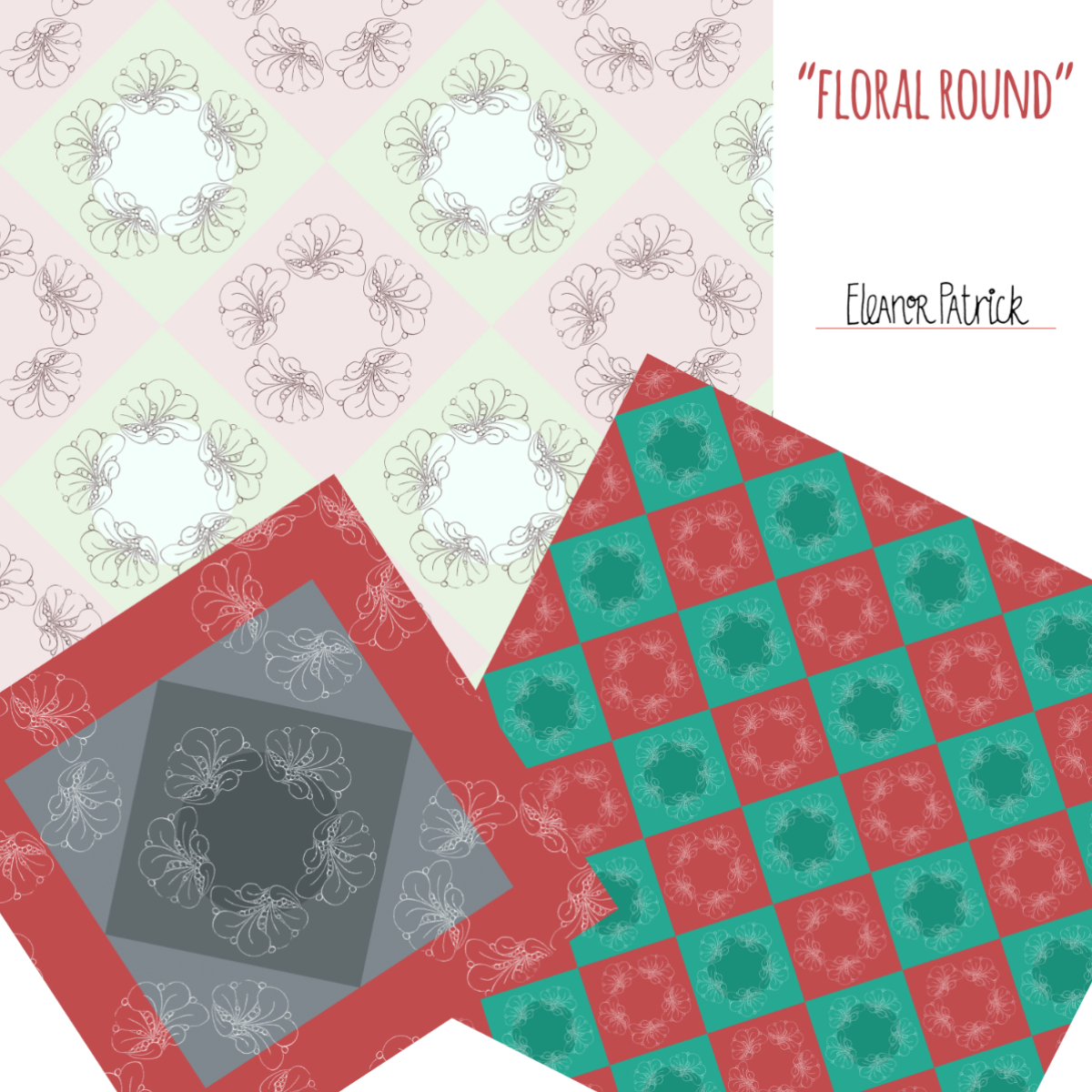floral round samples