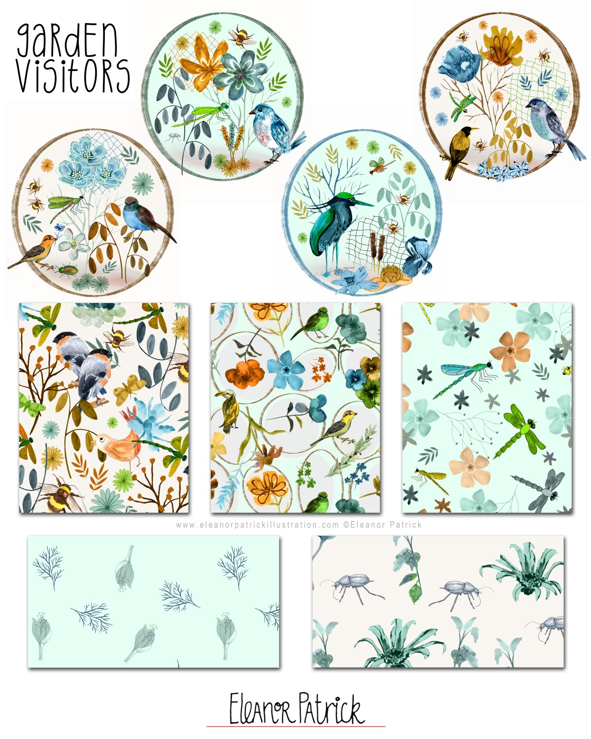Garden vistors collection