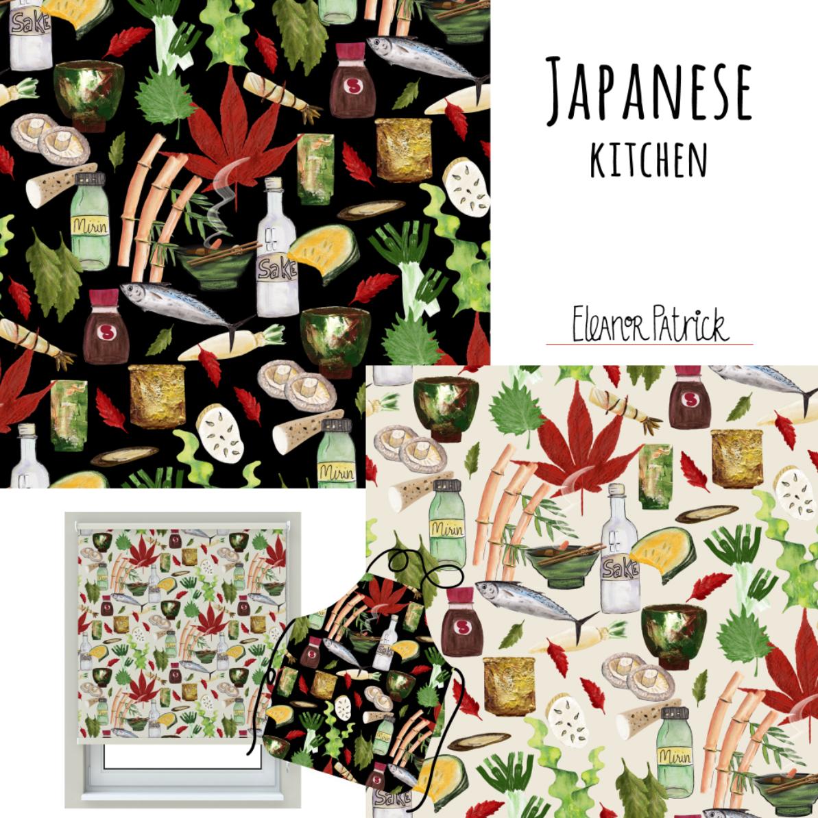Japanese kitchen samples