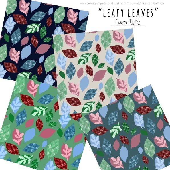leafy leaves samples