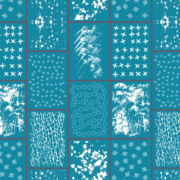 sample stitched tile