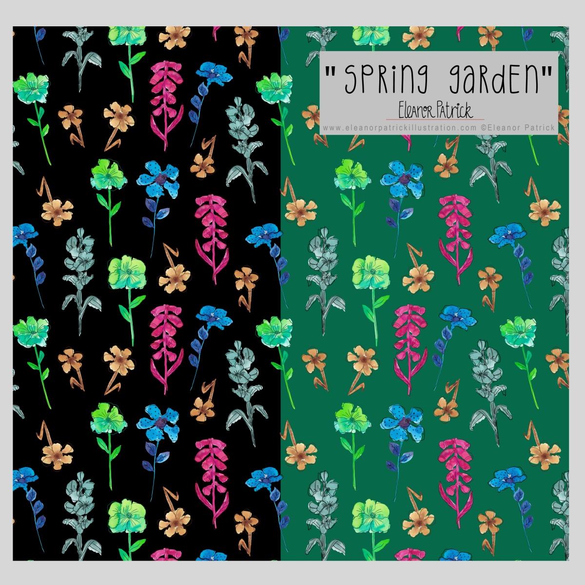 spring garden samples