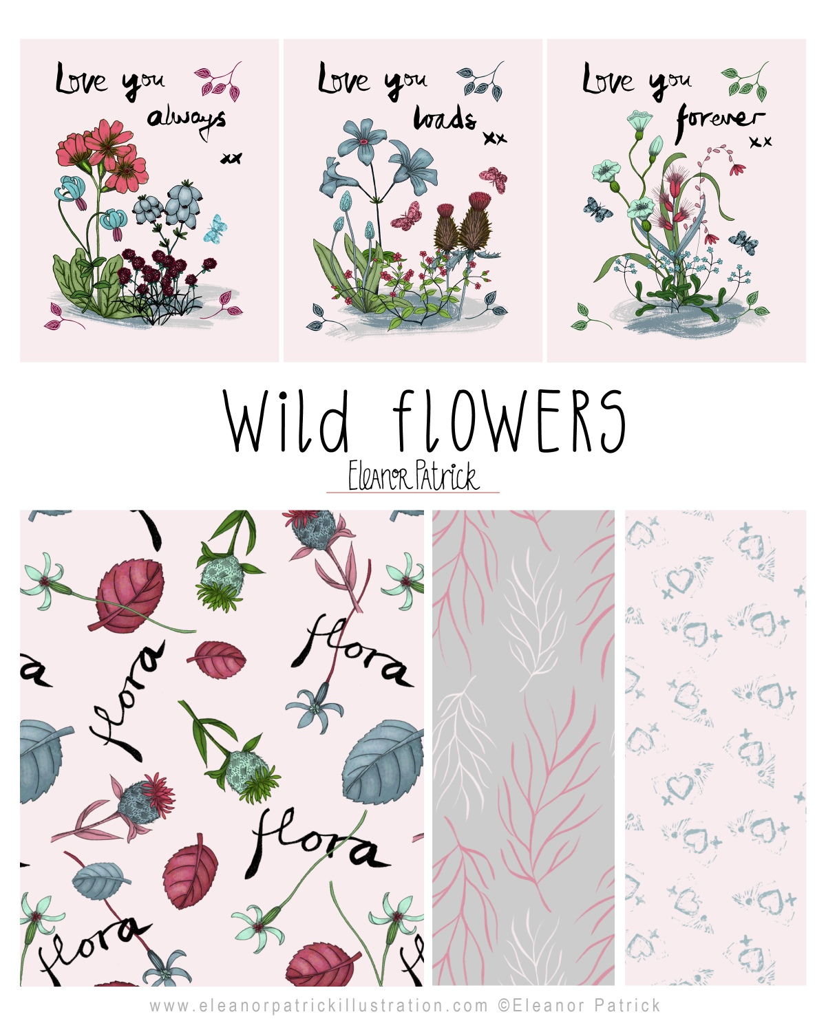 wild flower layout