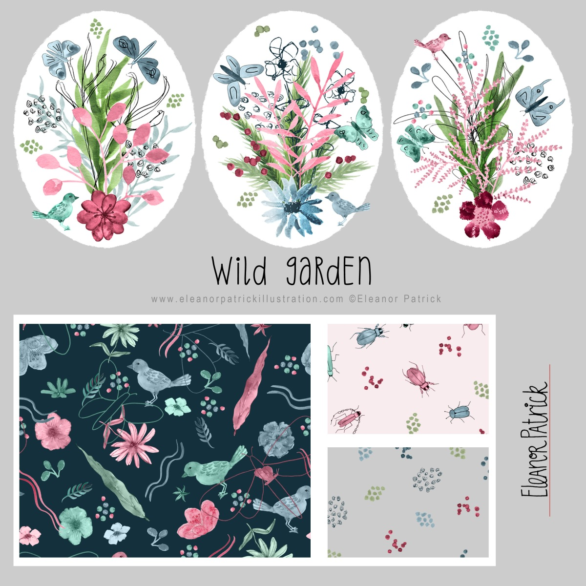 wild garden collection square