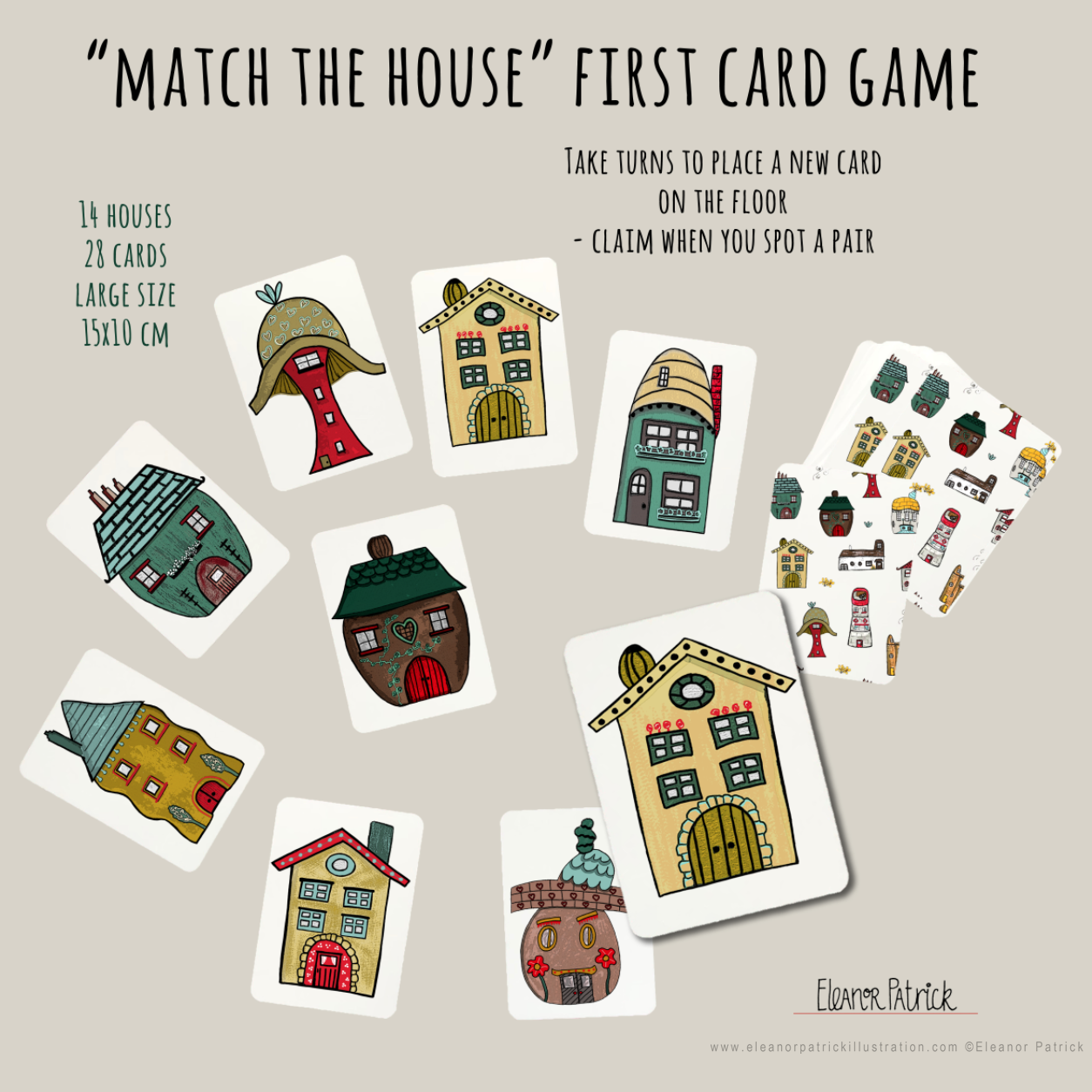 Match the House game screenshot